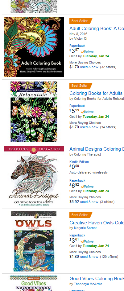 Look Below At All The BEST AMAZON SELLERS